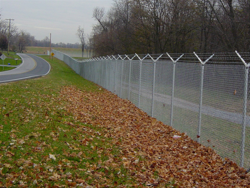 The Quality Barbed Wire Fencing Chain Link Fencing In